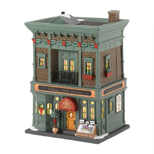 Department 56 Fulton Fish House